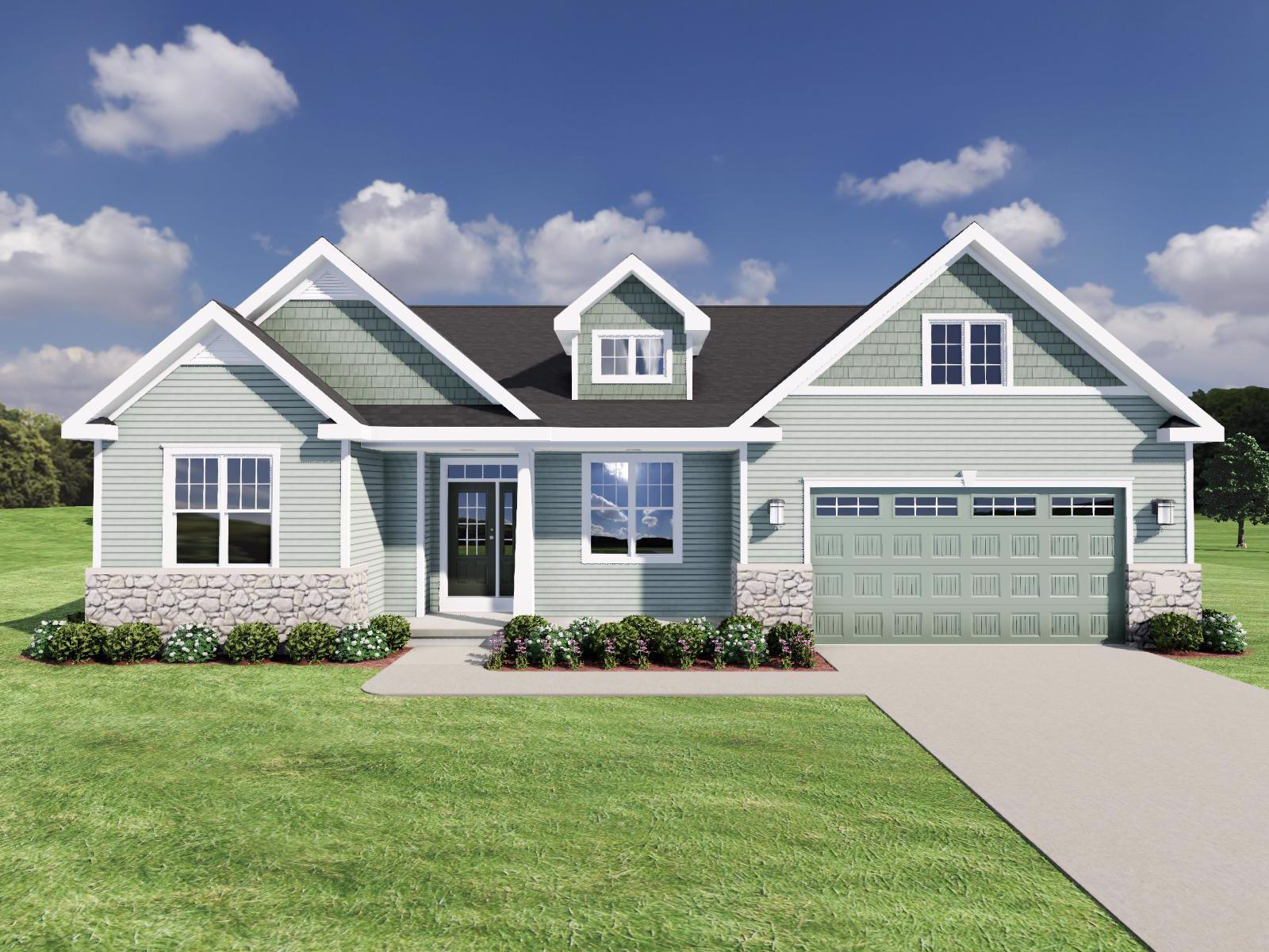Exterior featured in The Conrad By Veridian Homes in Milwaukee-Waukesha, WI