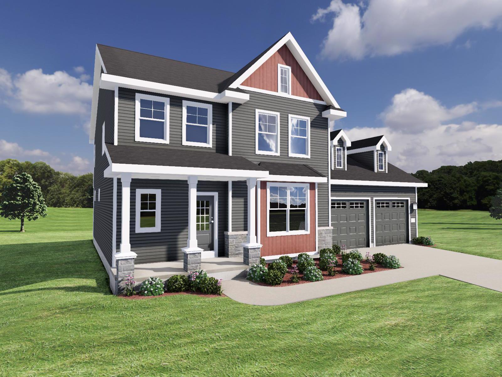 Exterior featured in The Hudson By Veridian Homes in Milwaukee-Waukesha, WI
