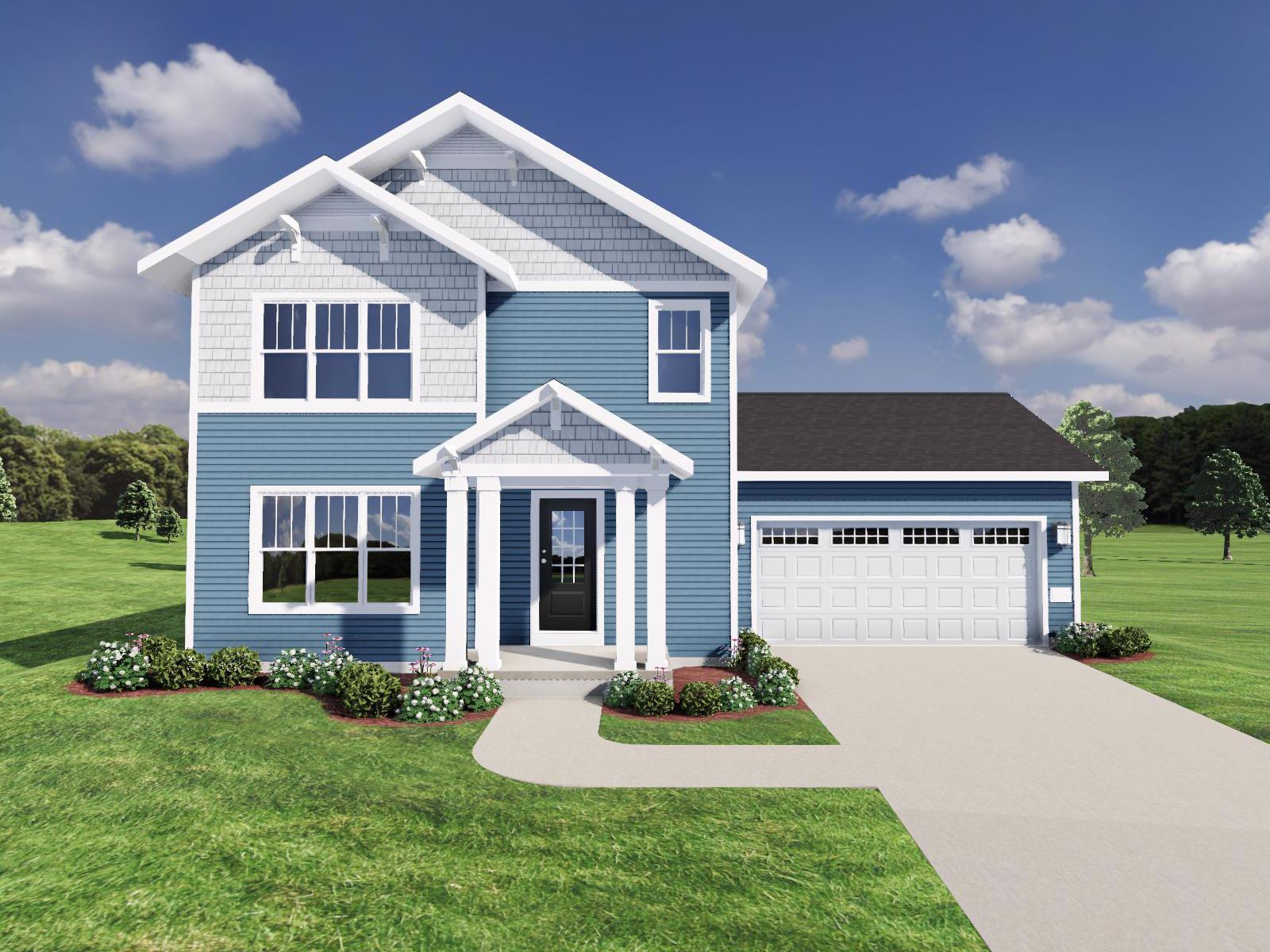 Exterior featured in The Beryl By Veridian Homes in Milwaukee-Waukesha, WI