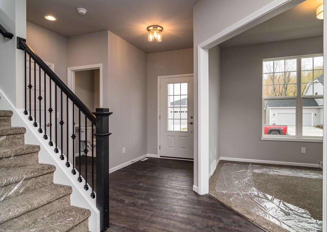 Living Area featured in The Hoffman By Veridian Homes in Madison, WI