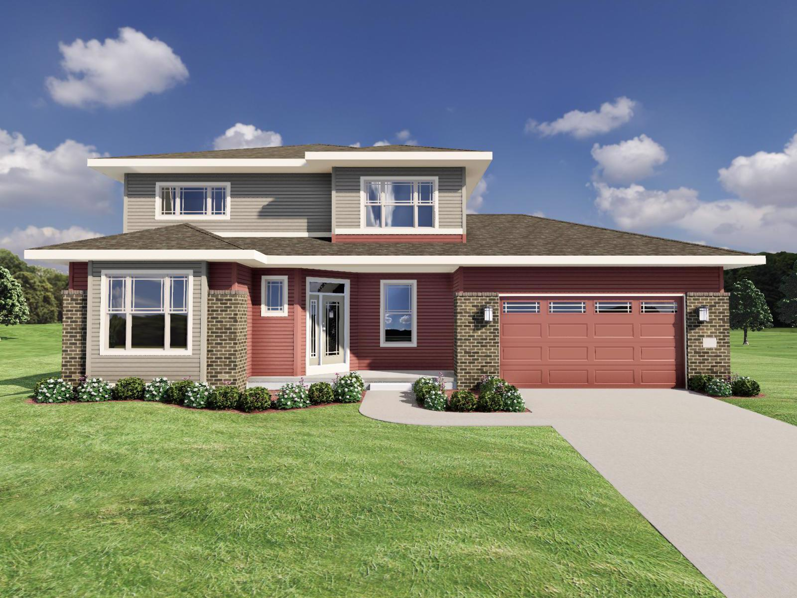 Exterior featured in The Bryant I By Veridian Homes in Madison, WI