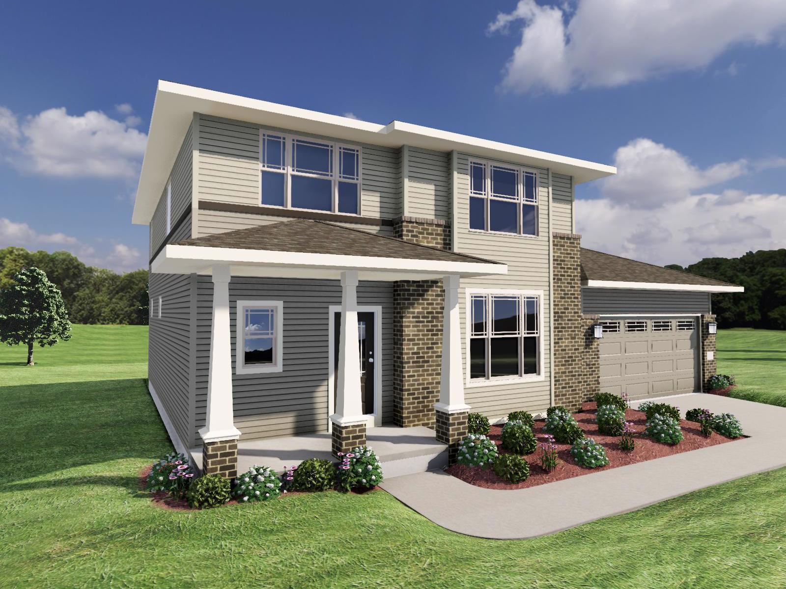 Exterior featured in The Hudson By Veridian Homes in Madison, WI