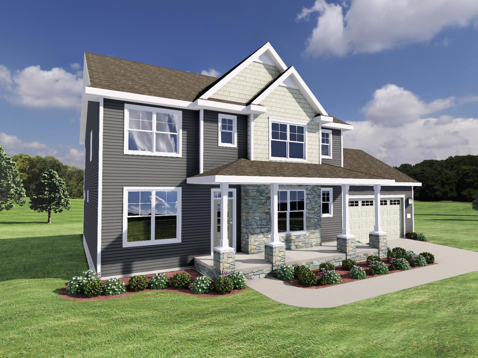 Exterior featured in The Jackson By Veridian Homes in Madison, WI