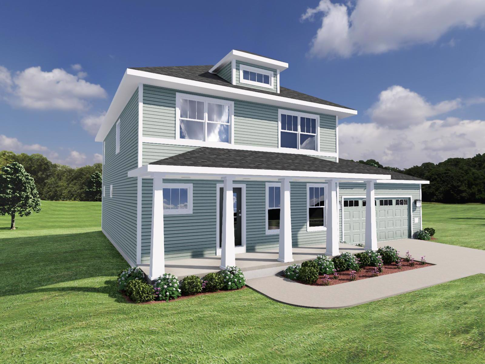 Exterior featured in The Everest By Veridian Homes in Madison, WI