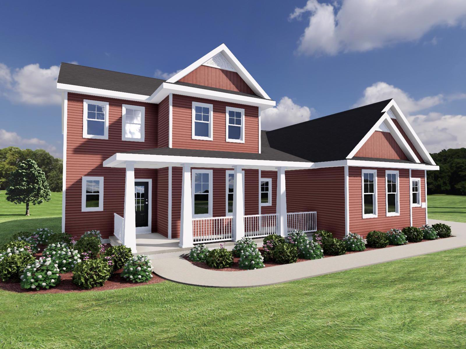 Exterior featured in The Carmichael By Veridian Homes in Madison, WI