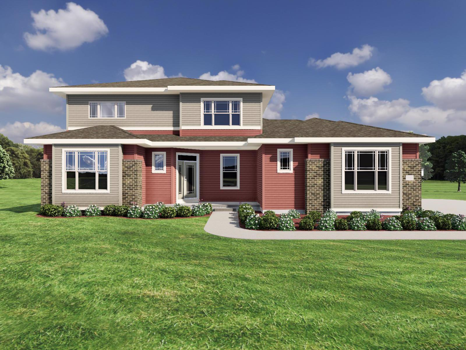 Exterior featured in The Bryant II By Veridian Homes in Madison, WI