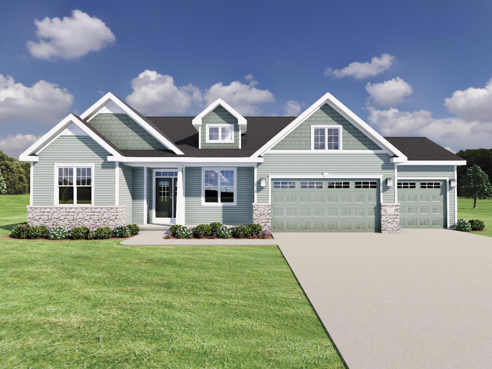 Exterior featured in The Conrad By Veridian Homes in Madison, WI