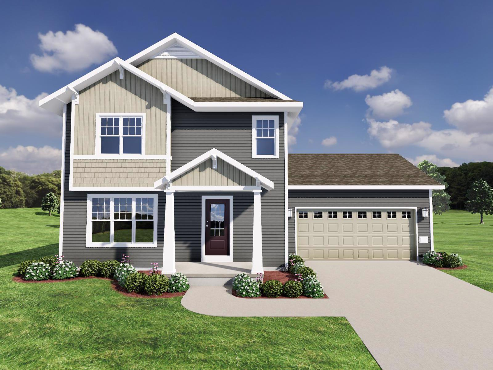 Exterior featured in The Beryl By Veridian Homes in Madison, WI