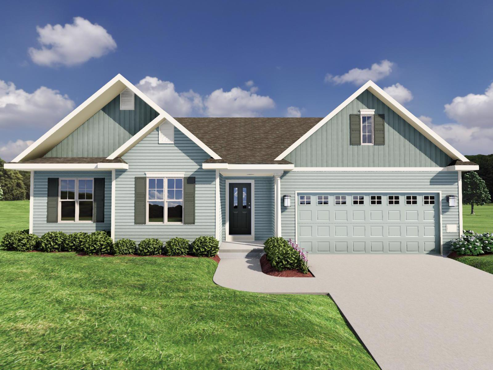 Exterior featured in The Elaine By Veridian Homes in Madison, WI