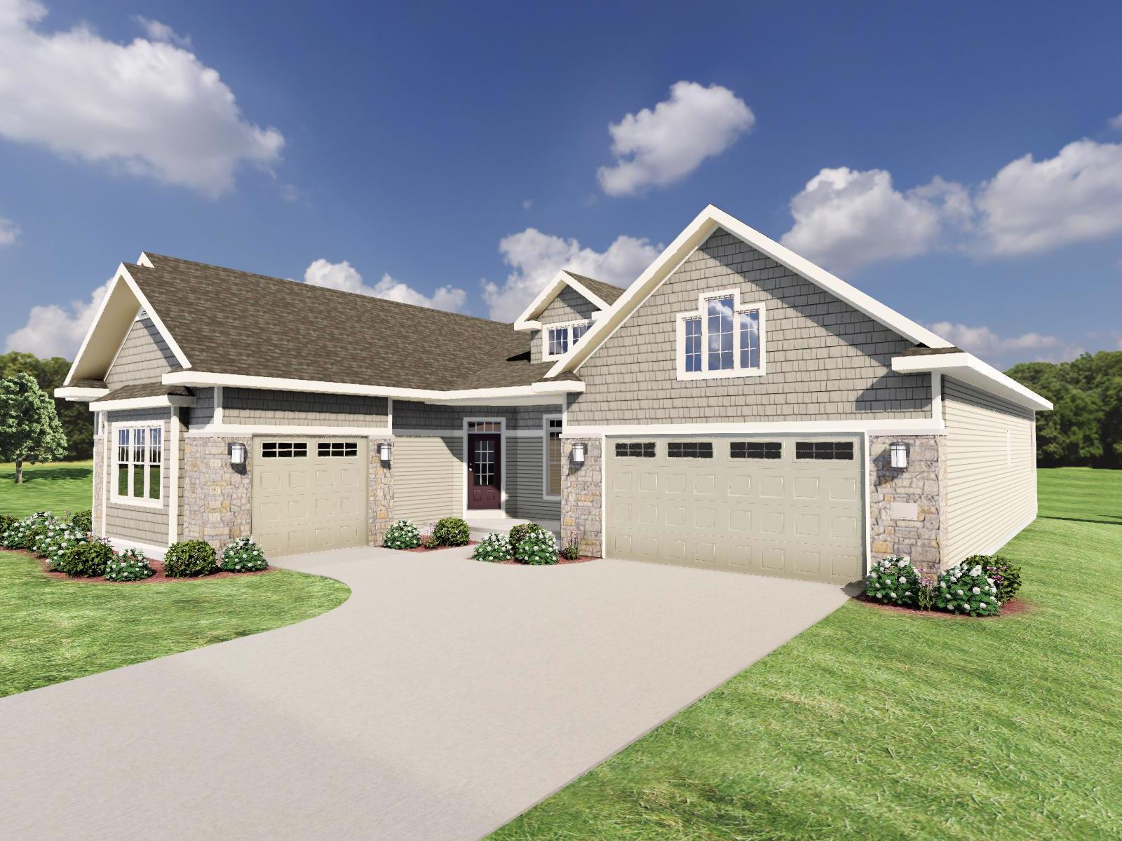 Exterior featured in The Mason By Veridian Homes in Madison, WI