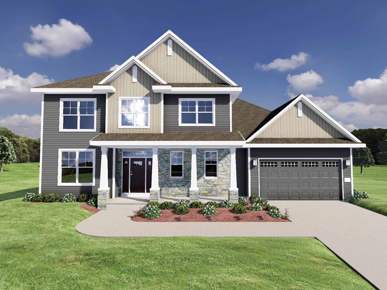 Exterior featured in The Maybeck By Veridian Homes in Madison, WI