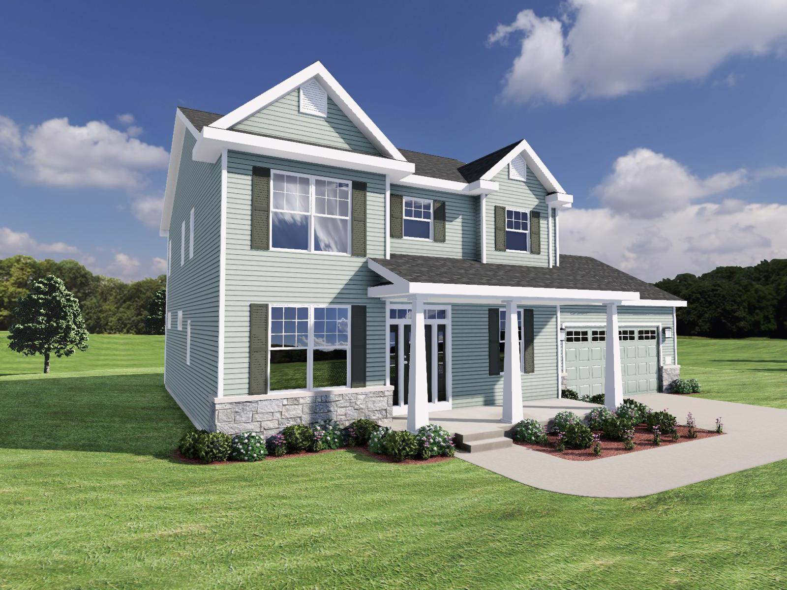 Exterior featured in The Margot By Veridian Homes in Madison, WI