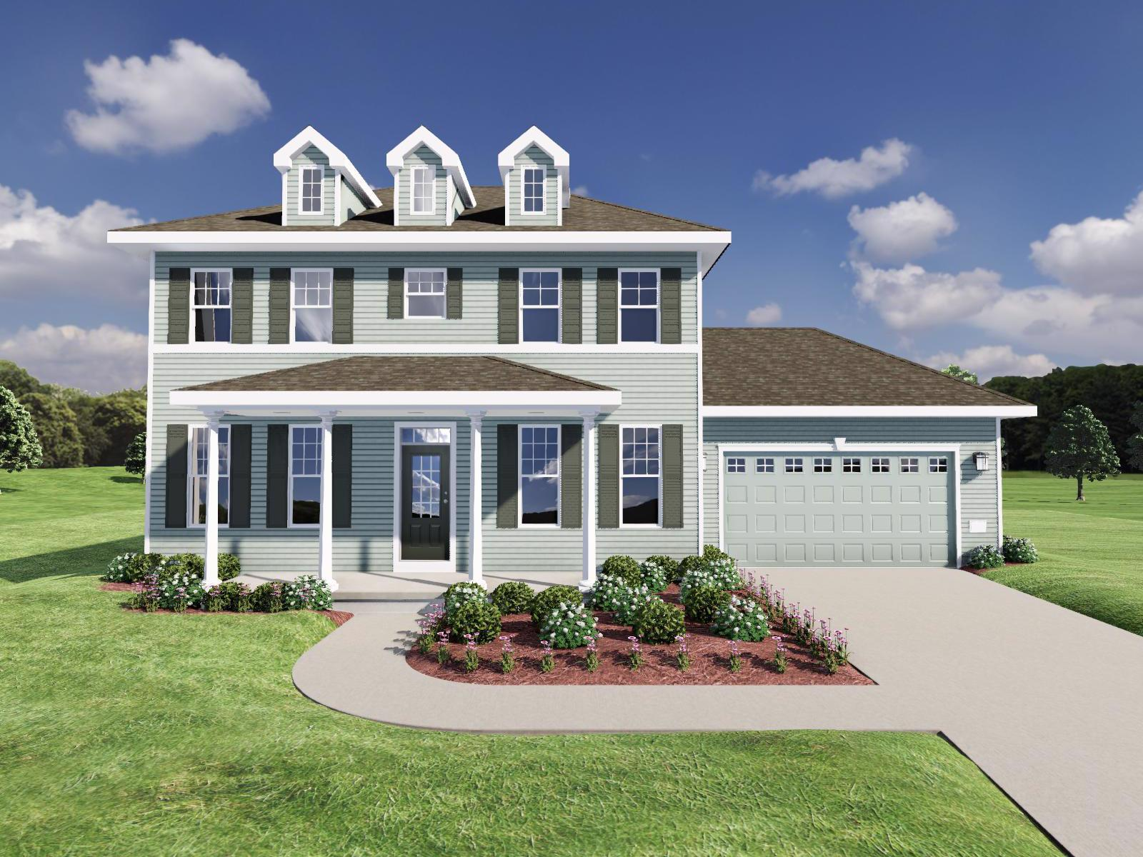 Exterior featured in The Parker By Veridian Homes in Madison, WI