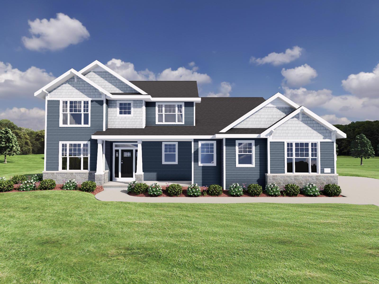 Exterior featured in The Randall By Veridian Homes in Madison, WI