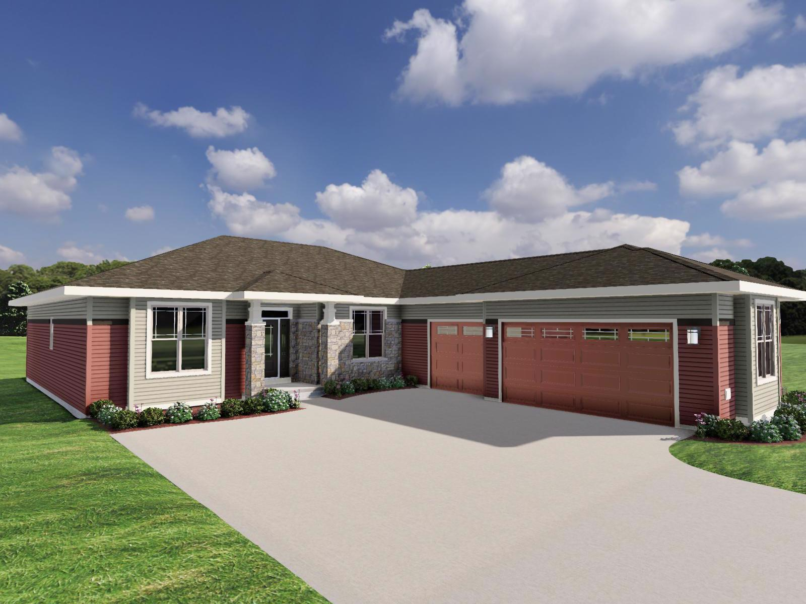 Exterior featured in The Sloan By Veridian Homes in Madison, WI