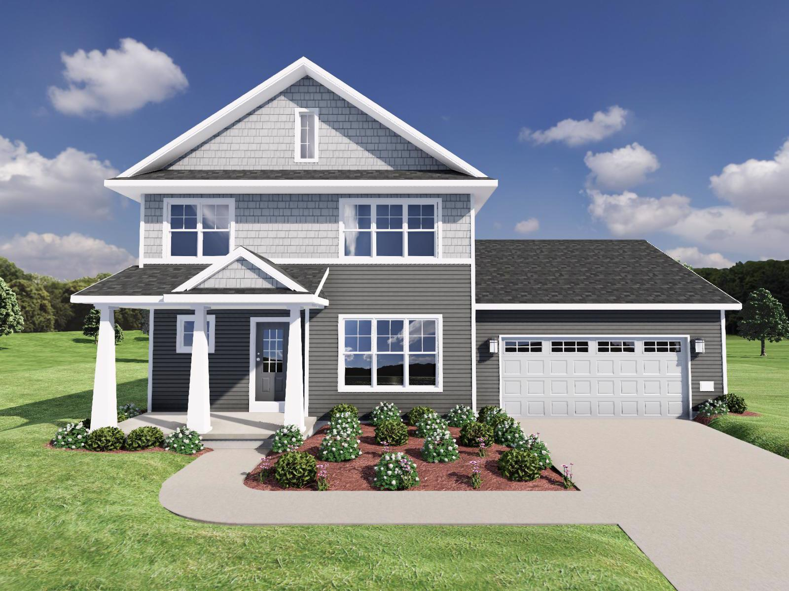 Exterior featured in The Mercer By Veridian Homes in Madison, WI