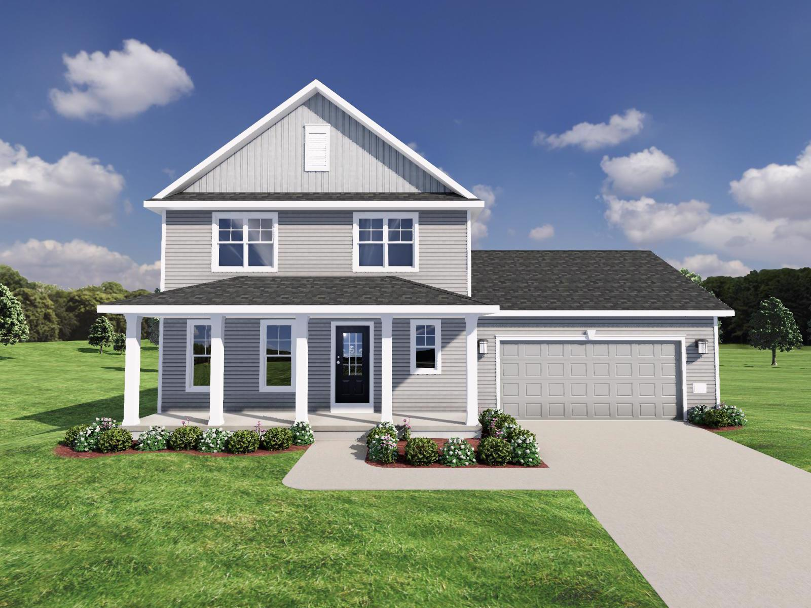 Exterior featured in The Sawyer By Veridian Homes in Madison, WI