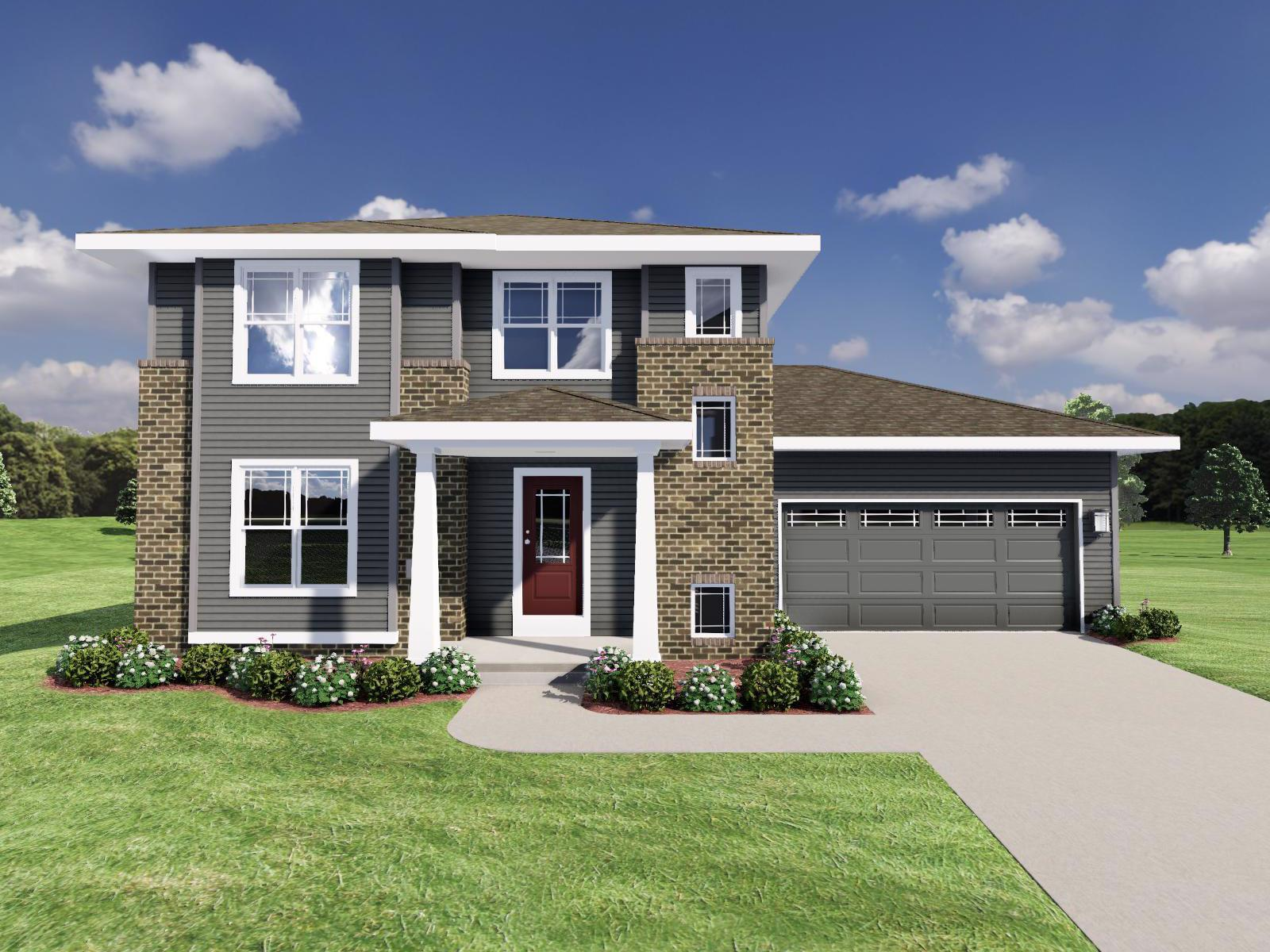 Exterior featured in The Rousseau By Veridian Homes in Madison, WI