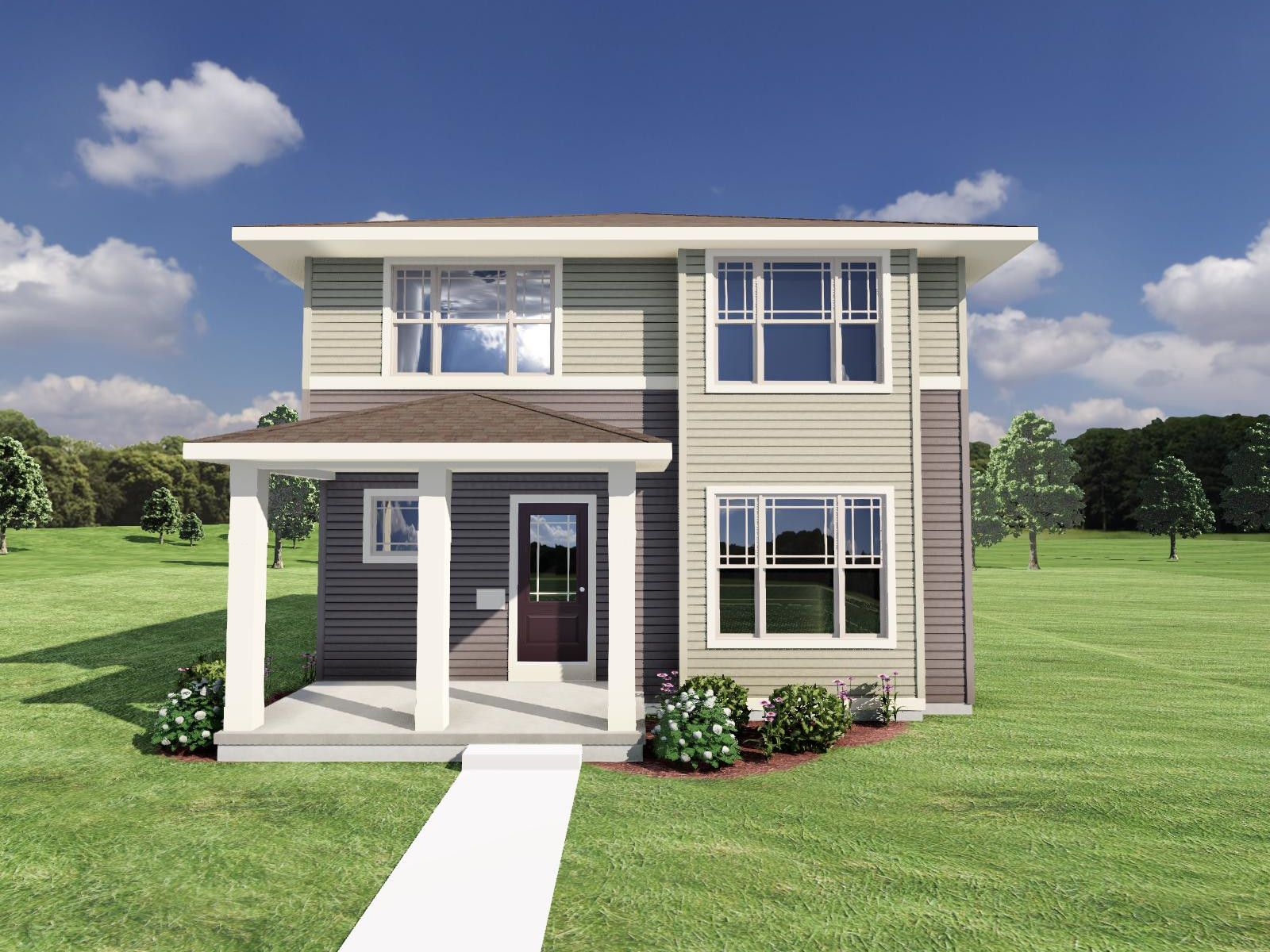 Exterior featured in The Stewart By Veridian Homes in Madison, WI