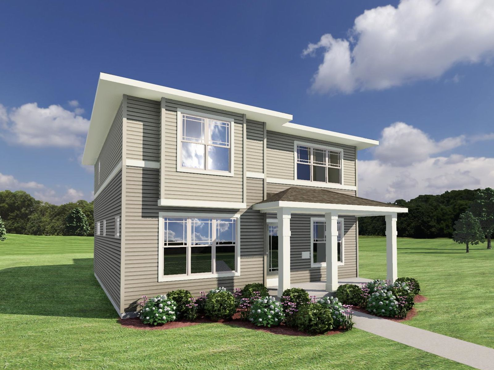 Exterior featured in The Kennedy By Veridian Homes in Madison, WI