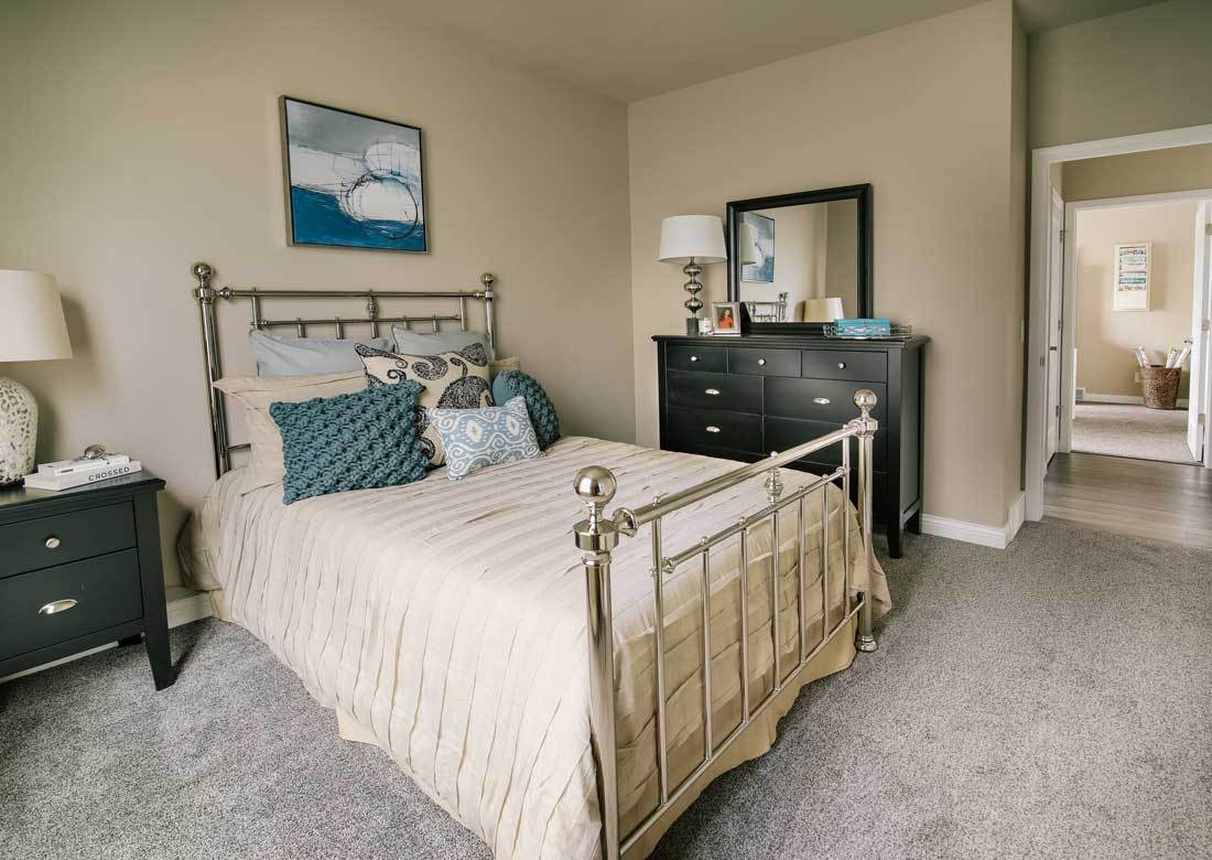 Bedroom featured in The Conrad By Veridian Homes in Madison, WI