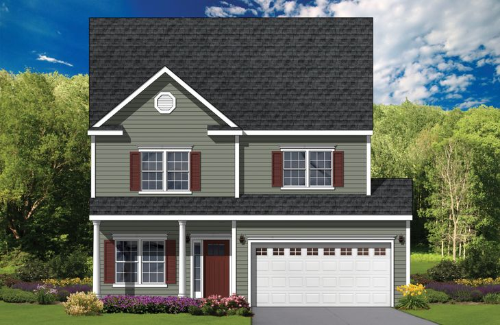 Exterior:Fulton Traditional