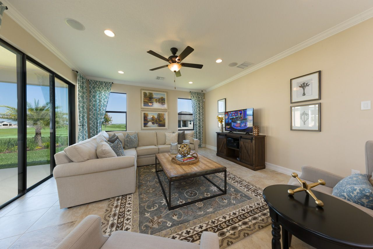 Living Area featured in the Siesta By Viera Builders  in Melbourne, FL