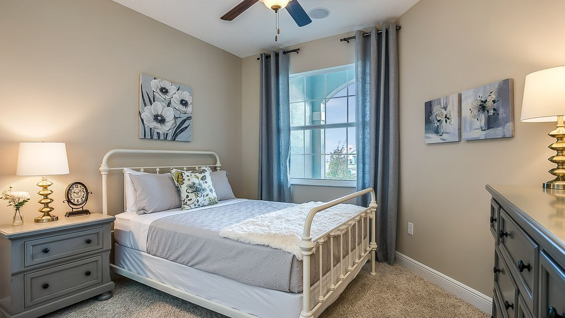 Bedroom featured in the Lindsey By Viera Builders  in Melbourne, FL