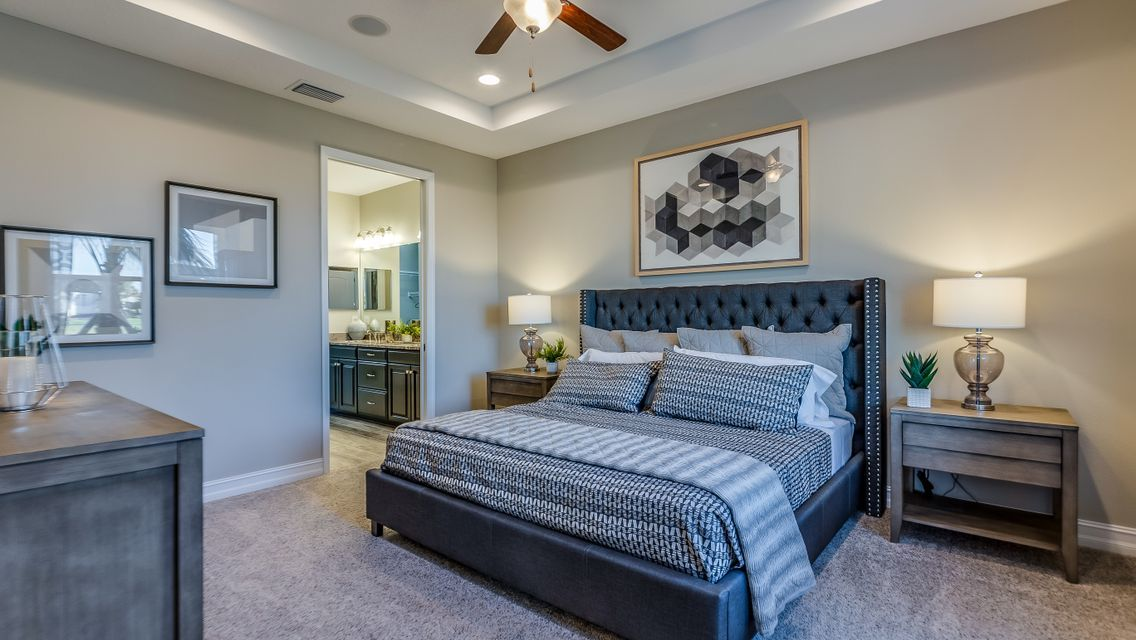 Bedroom featured in the Saratoga By Viera Builders  in Melbourne, FL