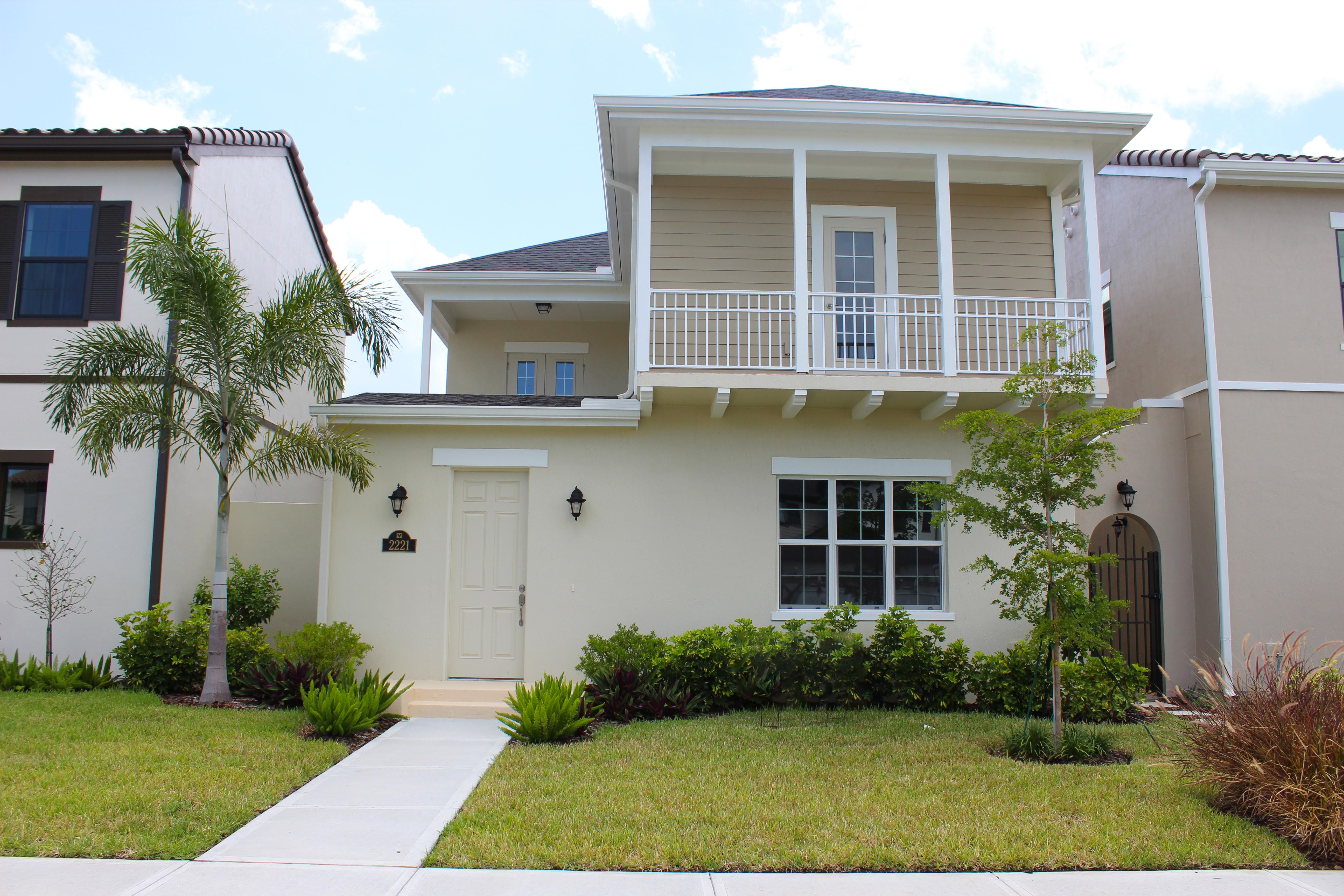 Exterior featured in the Cabrera II By Viera Builders  in Melbourne, FL
