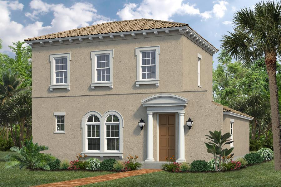 Exterior featured in the Alora II By Viera Builders  in Melbourne, FL