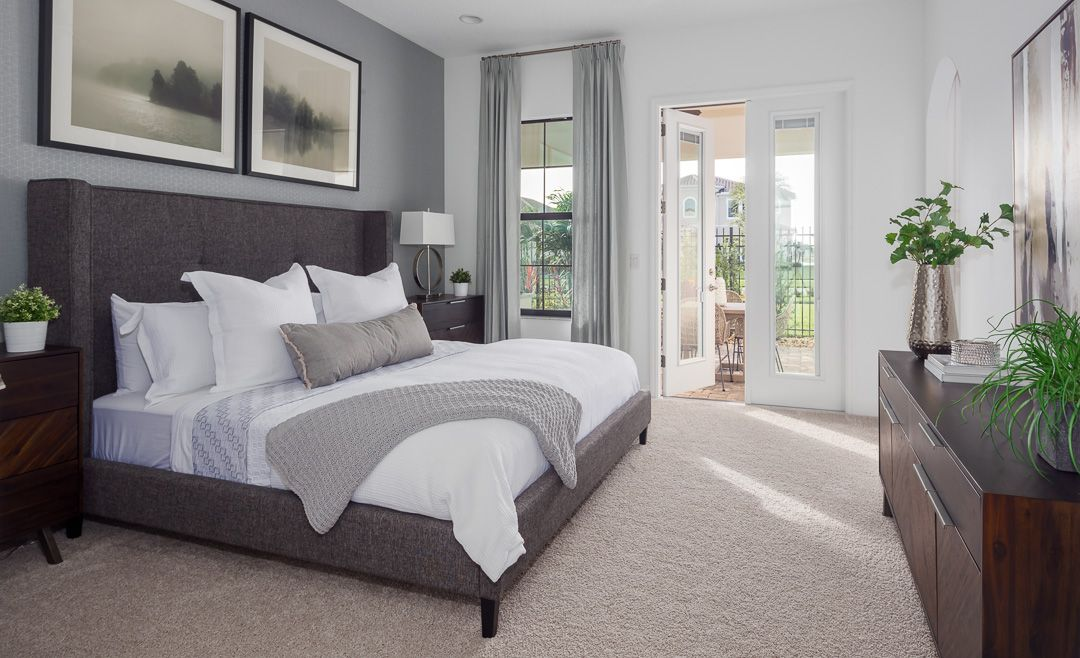 Bedroom featured in the Soria II By Viera Builders  in Melbourne, FL