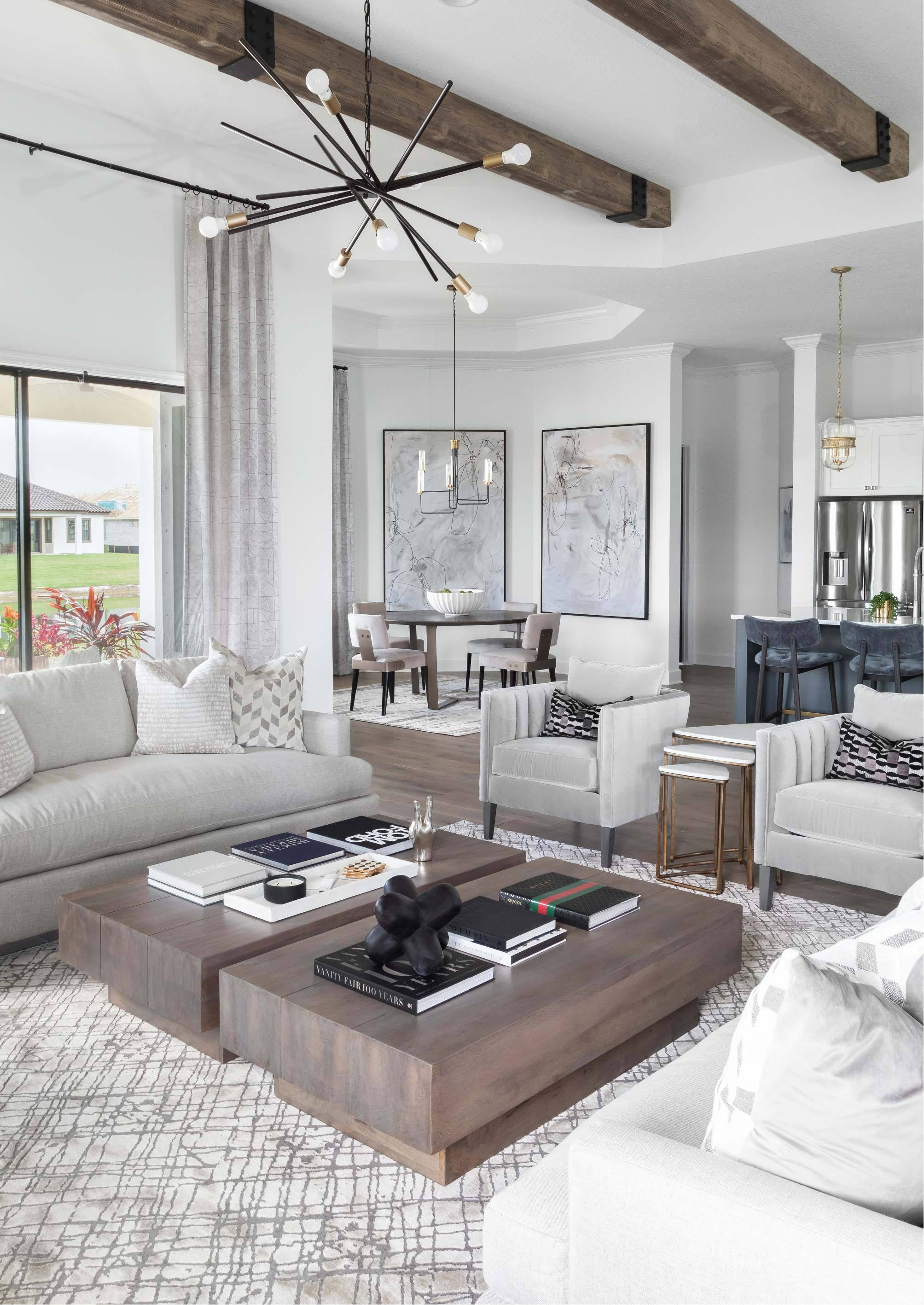 Living Area featured in the Siena By Viera Builders  in Melbourne, FL