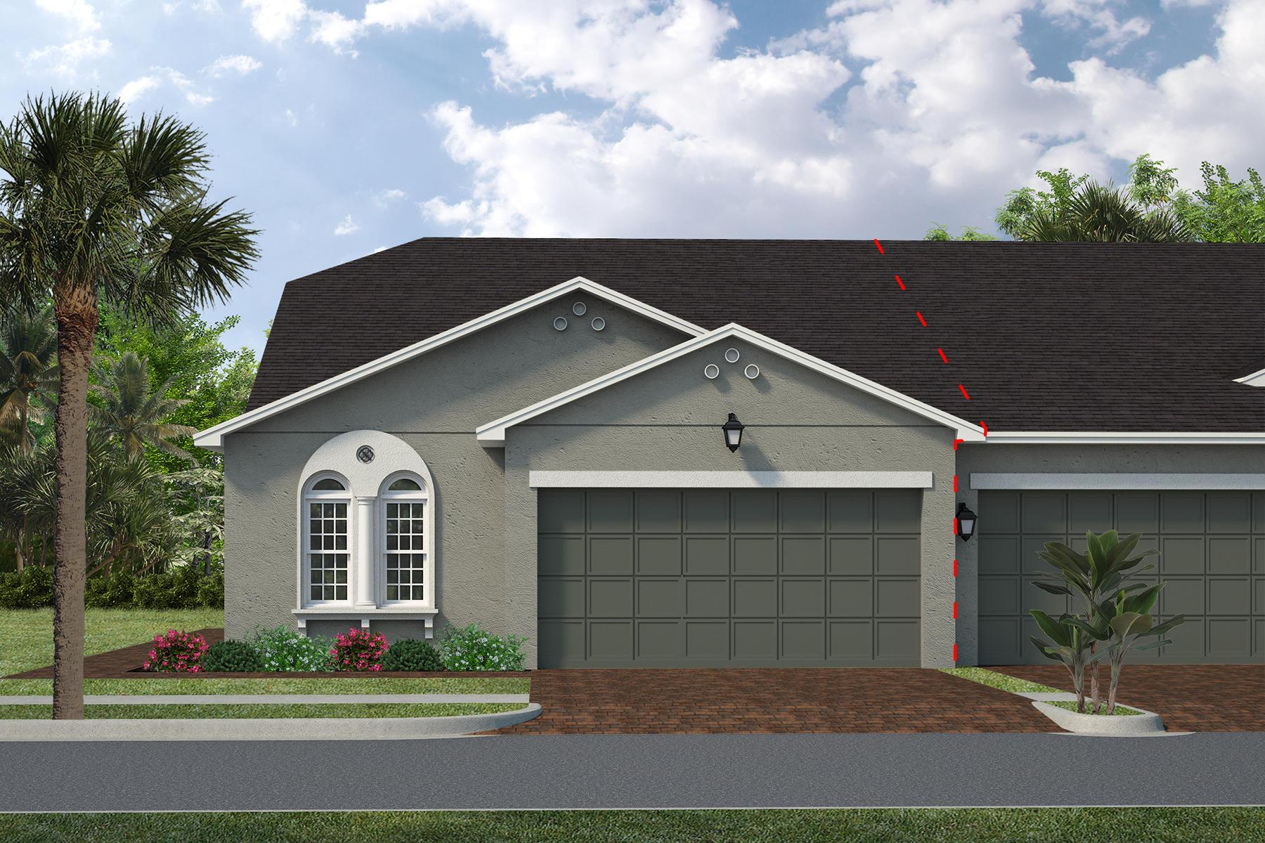 Exterior featured in the Monterey By Viera Builders  in Melbourne, FL