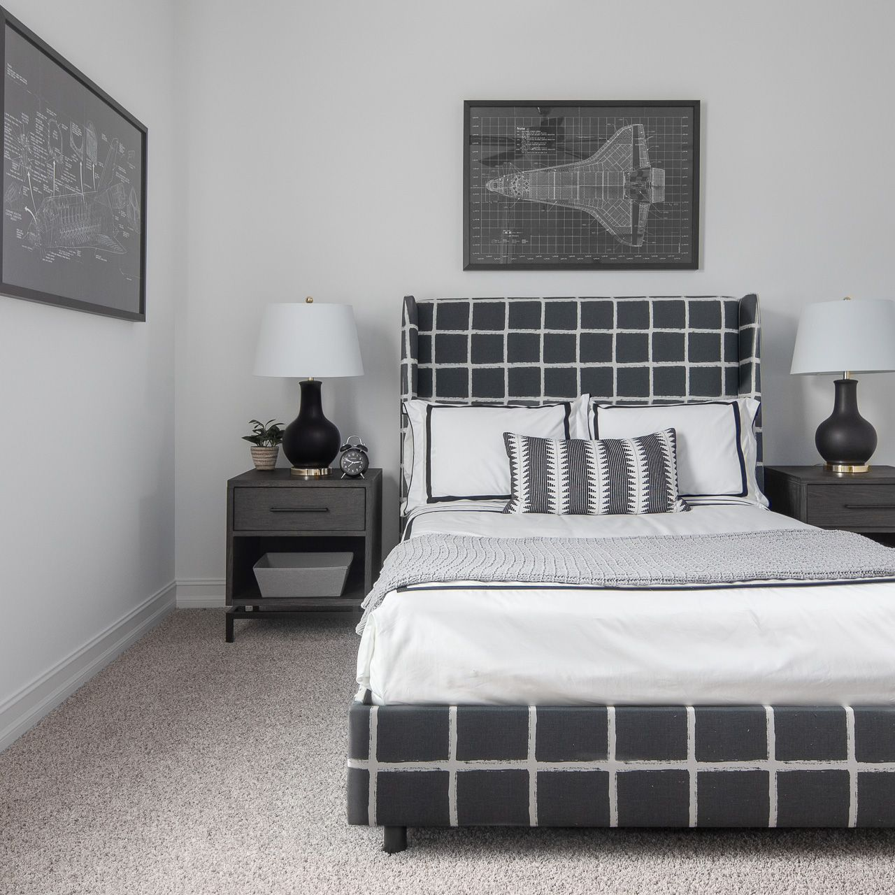 Bedroom featured in the Acacia By Viera Builders  in Melbourne, FL