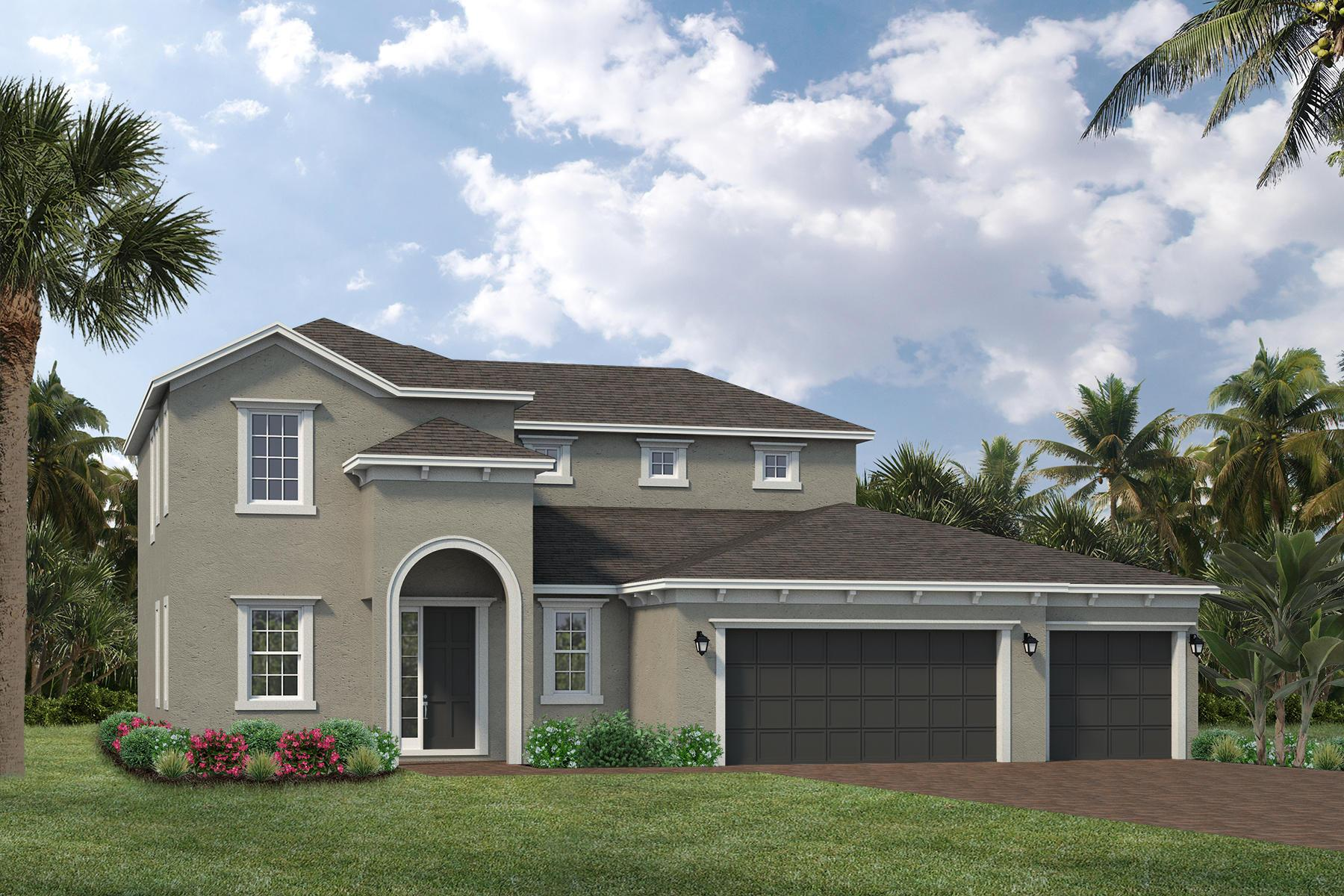 Exterior featured in the Hartley By Viera Builders  in Melbourne, FL