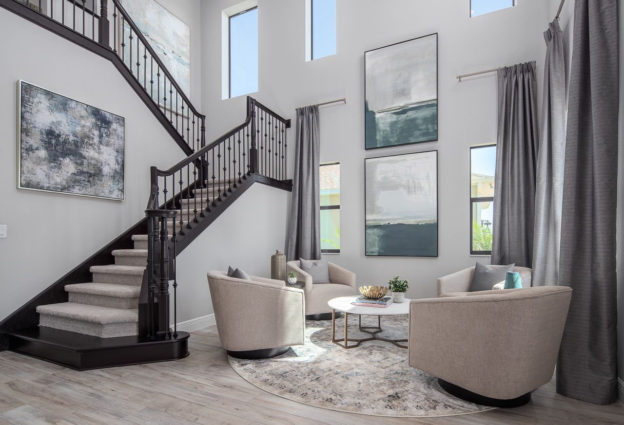 Living Area featured in the Hartley By Viera Builders  in Melbourne, FL