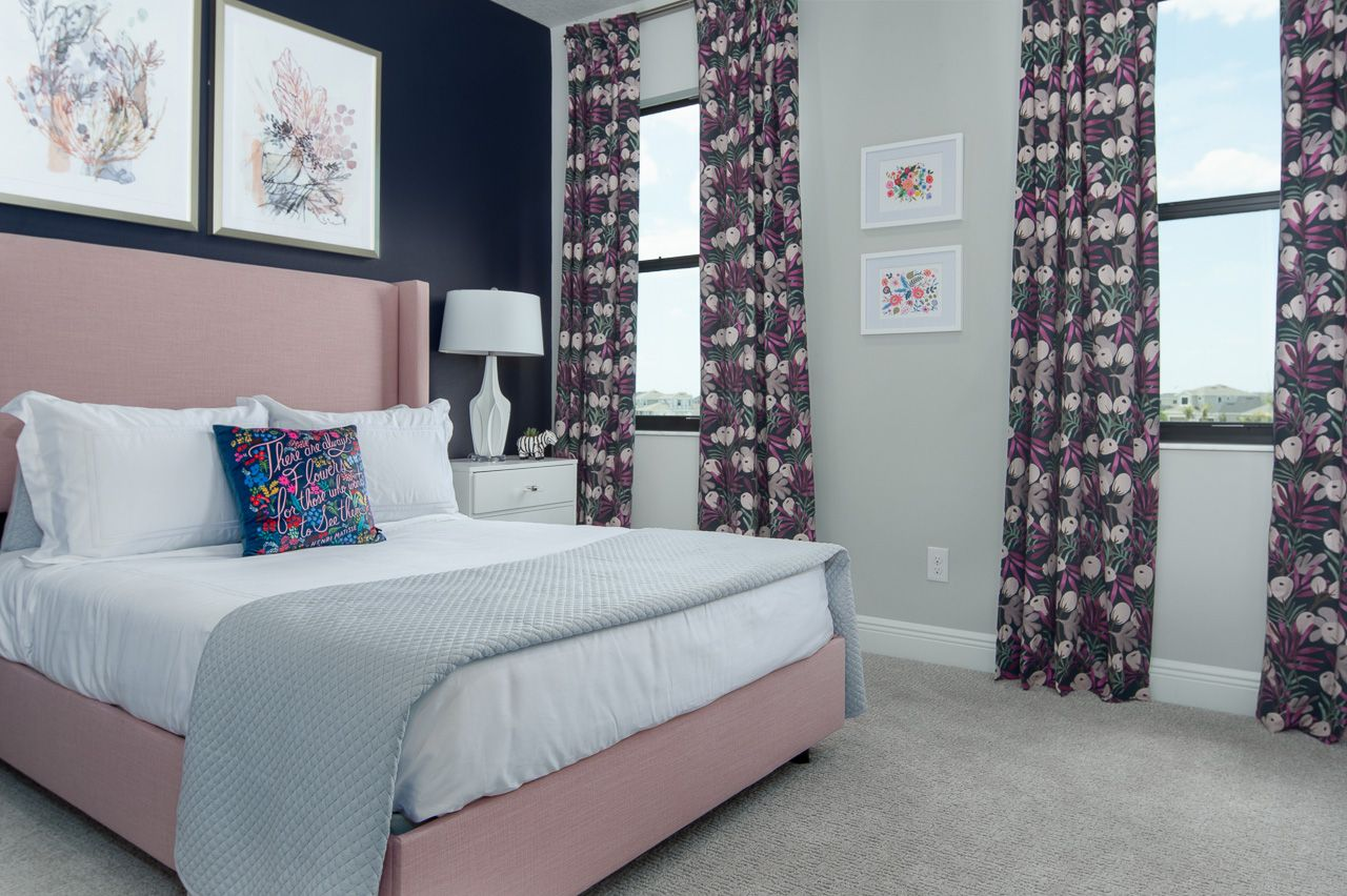 Bedroom featured in the Hartley By Viera Builders  in Melbourne, FL
