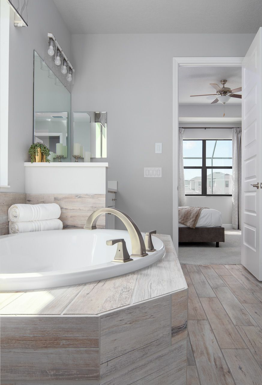 Bathroom featured in the Hartley By Viera Builders  in Melbourne, FL