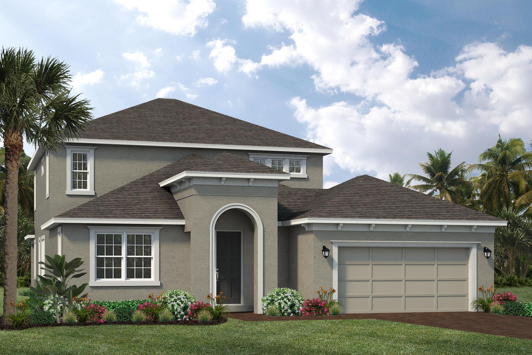 Exterior featured in The Sycamore By Viera Builders  in Melbourne, FL
