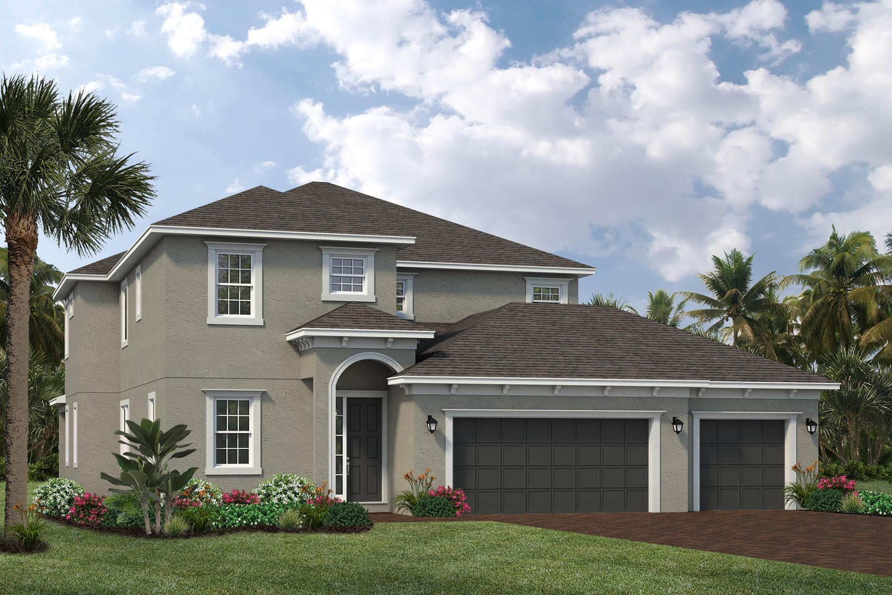 Exterior featured in the Valrico By Viera Builders  in Melbourne, FL