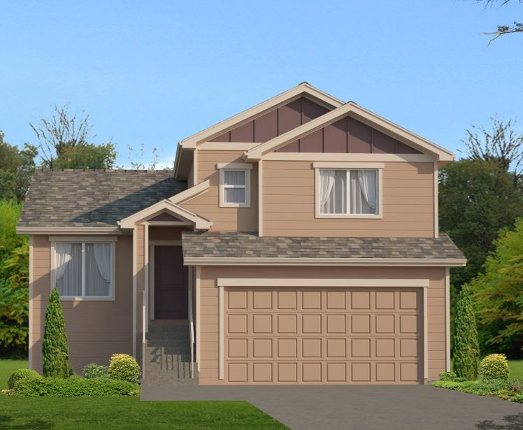 Exterior featured in the Silverwood Tri Level By Colorado Springs in Colorado Springs, CO