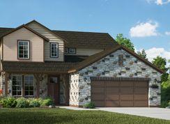 Stratton - Venado Crossing: Cibolo, Texas - View Homes San Antonio