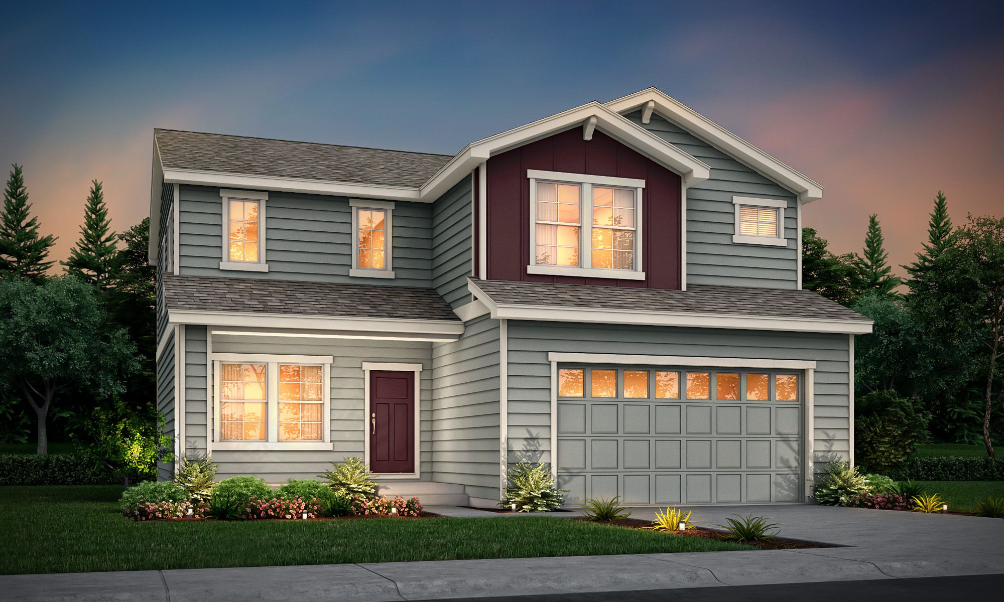 Exterior featured in the Malibu Heritage Series By View Homes Colorado Springs