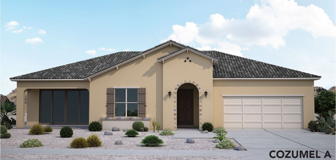 Exterior featured in the Cozumel By View Homes El Paso in El Paso, TX