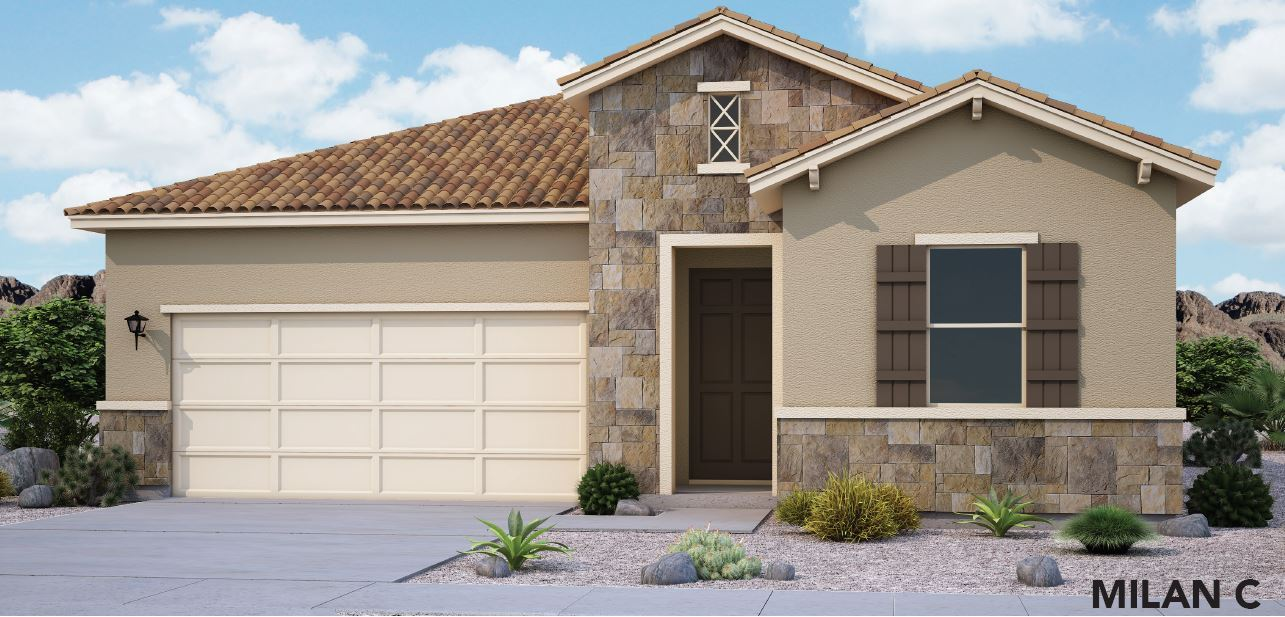 Exterior featured in the Milan By View Homes El Paso in El Paso, TX