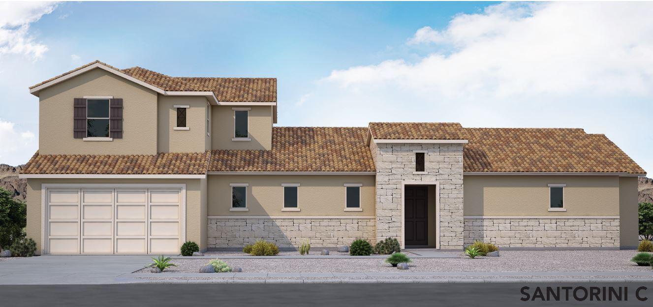 Exterior featured in the Santorini By View Homes El Paso in El Paso, TX