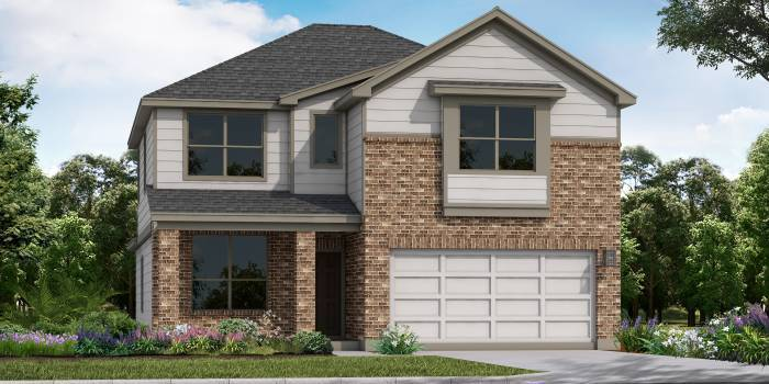 Exterior featured in the Herff By Laredo - Armadillo Homes in Laredo, TX