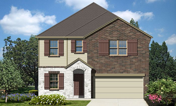 Exterior featured in the Bryan By Laredo - Armadillo Homes in Laredo, TX