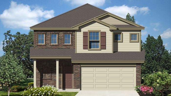 Exterior featured in the Monroe By Laredo - Armadillo Homes in Laredo, TX